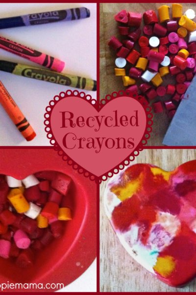 Kids Craft: Recycled Crayons
