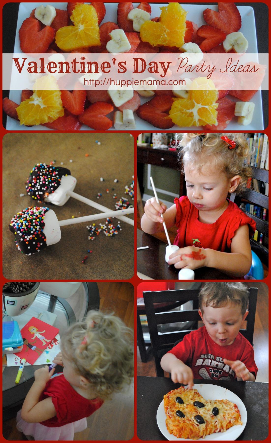Valentine's Day Preschool Party Ideas