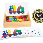 Guidecraft Flower Match Garden Patch & Animal Train Sort and Match