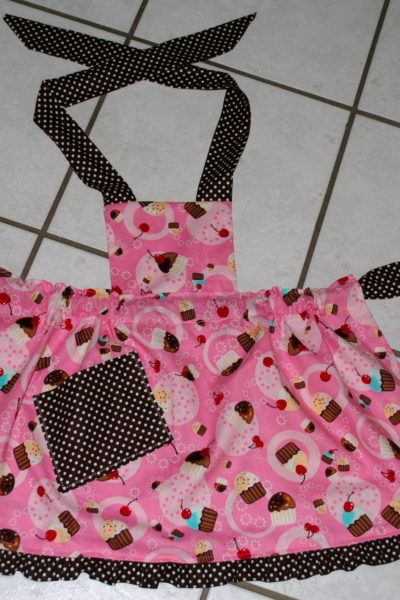 Pretend Play Apron Sewing Project