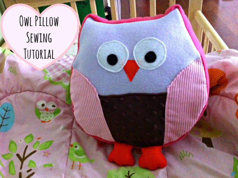 Owl Pillow Sewing Tutorial - Our Potluck Family