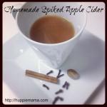 Homemade Spiked Apple Cider