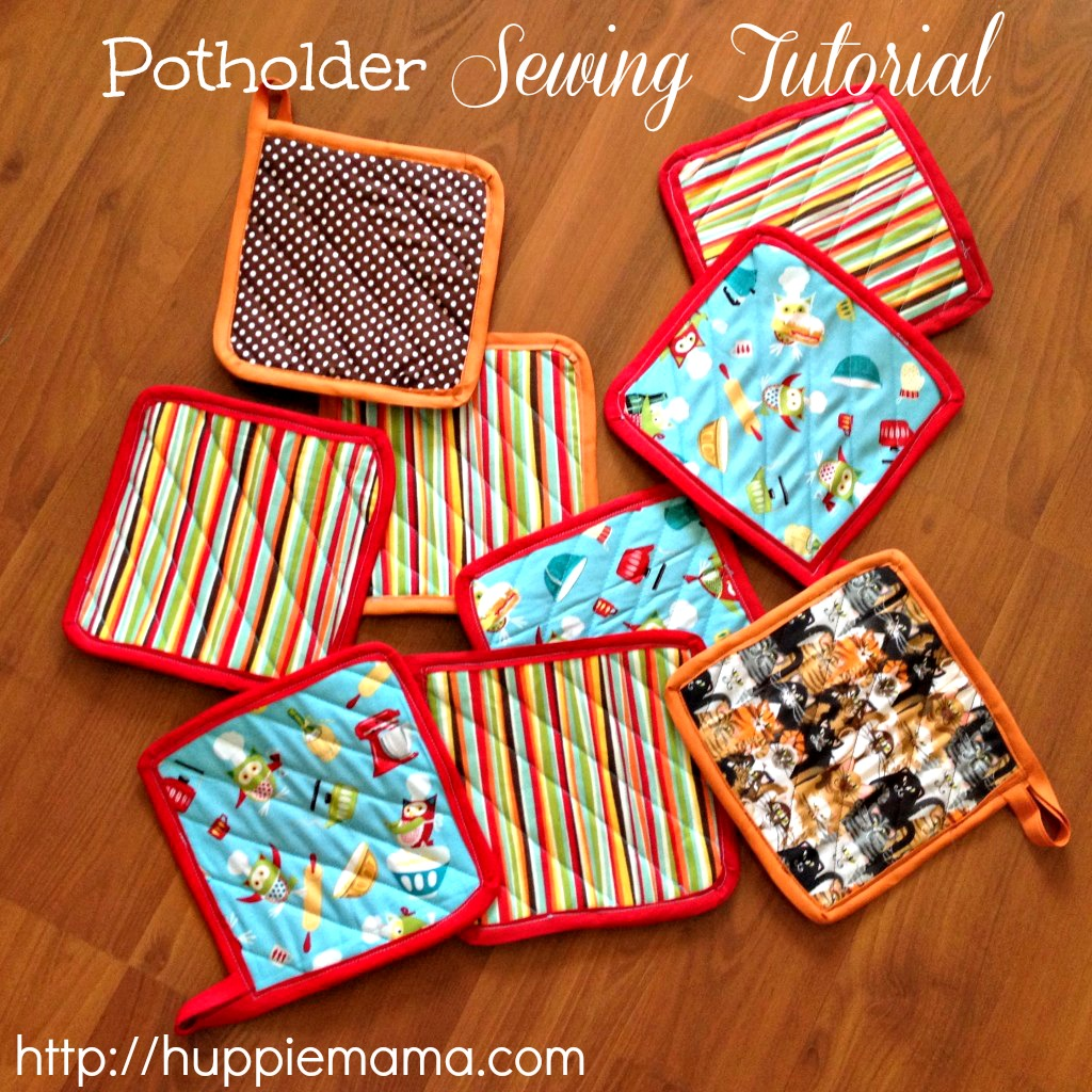 Potholder Sewing Tutorial - Our Potluck Family