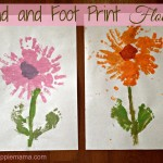 Craft: Hand and Foot Print Flowers