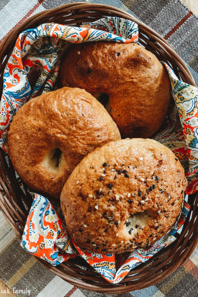 Homemade Bagels Baked