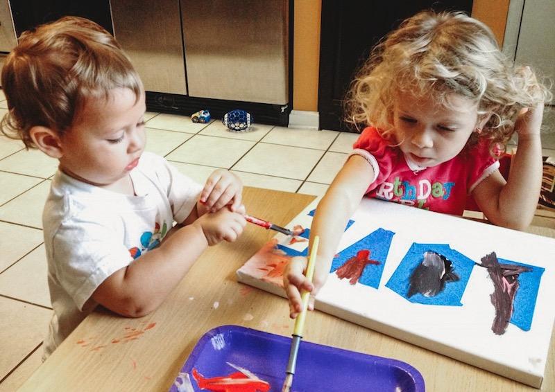 Love Canvas Kids Paint