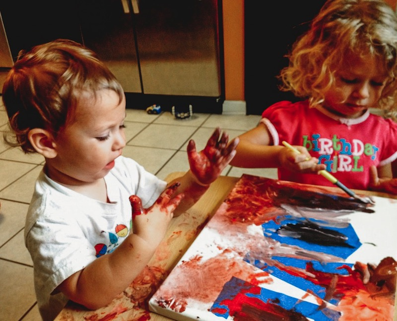 Love Canvas Toddlers