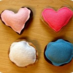 Valentine's Day Craft: Felt Cookies