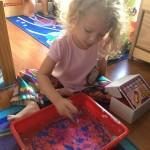 A Day of Homeschool Preschool #WordlessWednesday