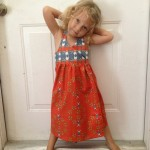 Spring Dress Sewing Project