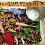 Sensory Fun: Dinosaur Sensory Bin