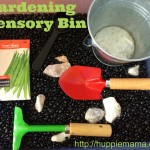 Sensory Fun: Gardening Sensory Bin