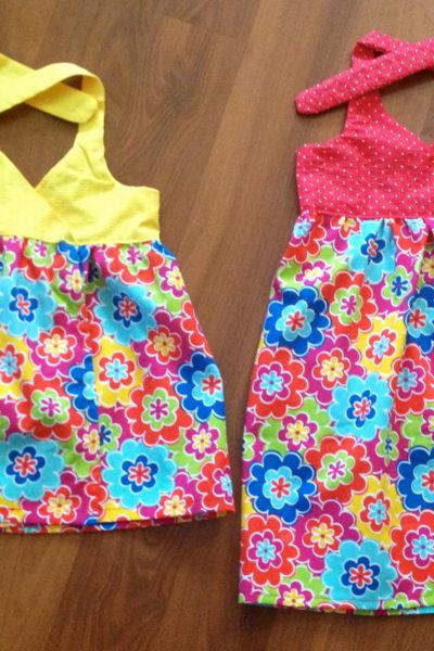Kids Summer Wrap Dresses