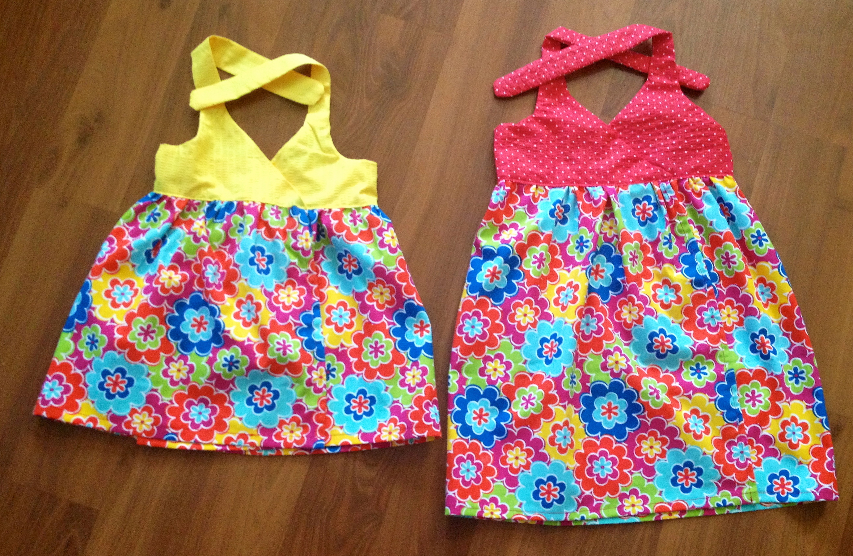 Kids Summer Wrap Dresses
