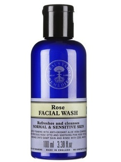 rose facial wash