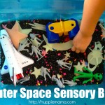Sensory Fun: Outer Space Bin