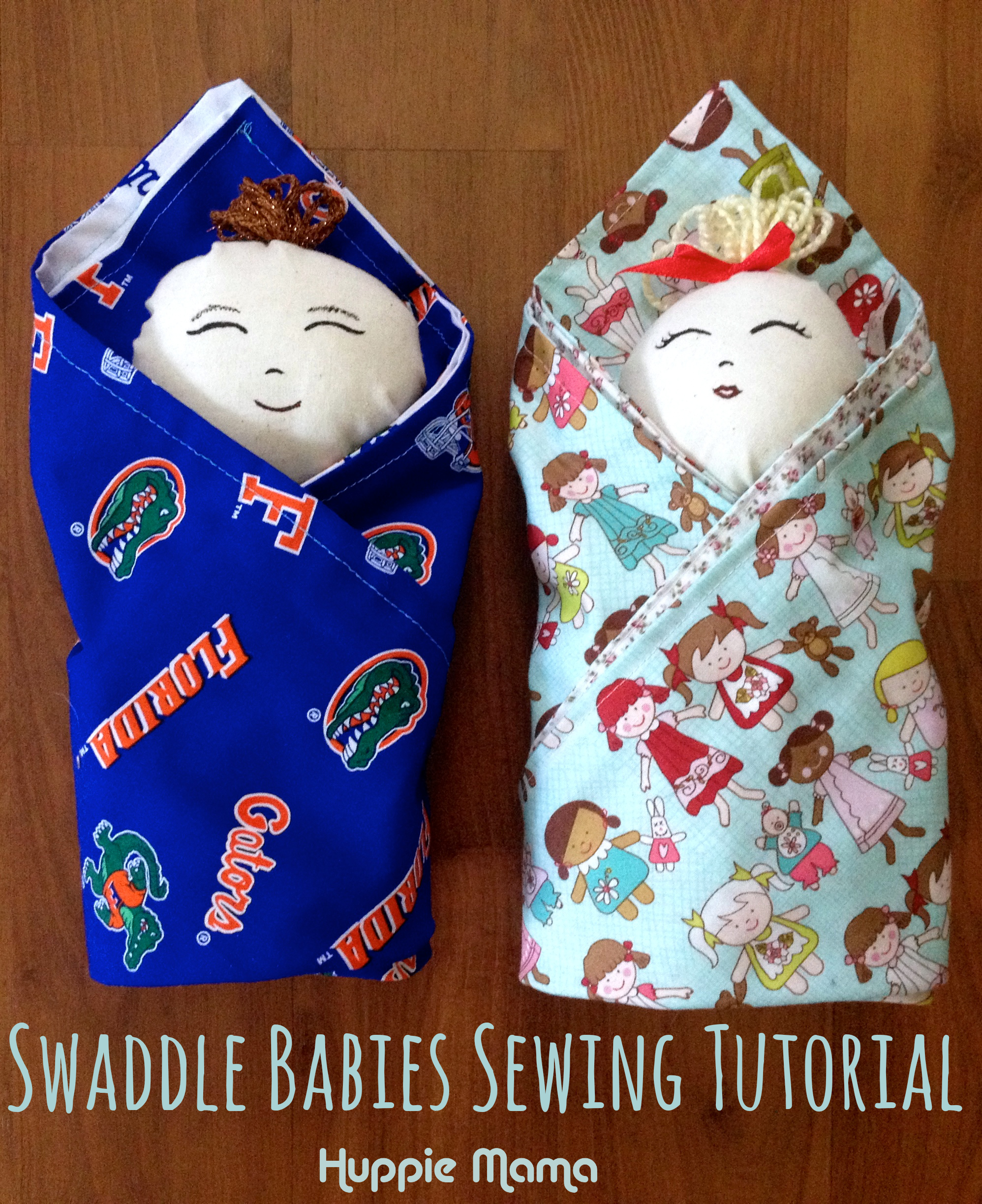 Swaddle Babies Sewing Tutorial