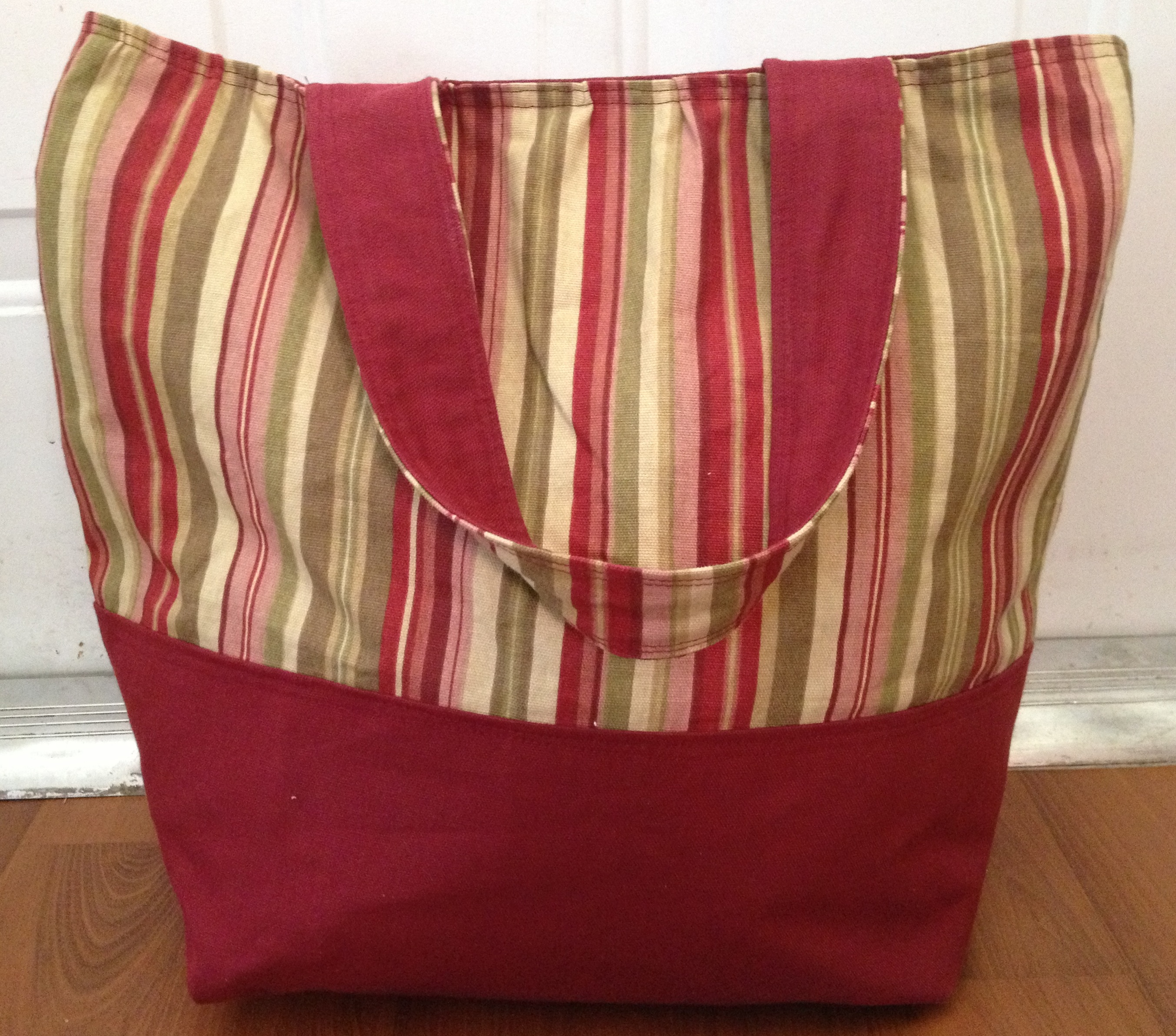 Tote Bag Sewing Project