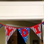 Birthday Banner Sewing Tutorial