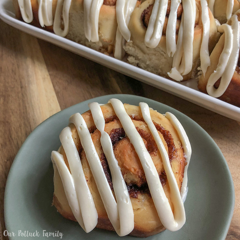Sourdough Cinnamon Roll Instagram
