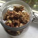 Raw Dehydrator Vanilla-Cinnamon Granola