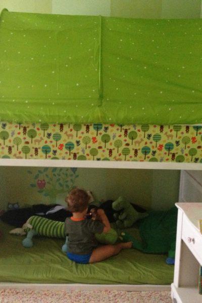 IKEA Kura Bed Hack & Garden Bedroom Makeover