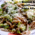 Broccoli & Cauliflower Pasta Alfredo