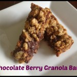 Chocolate Berry Granola Bars
