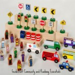 Guidecraft Educator Community and Roadway Essentials
