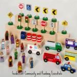 Guidecraft Educator Community and Roadway Essentials