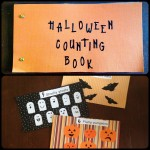 Fall Craft: Halloween Counting Book