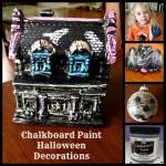"Chalkboard Paint Halloween ""UNChristmas"" Decorations"