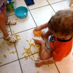 Sensory Exploration: Let Your Kids Make a Mess!