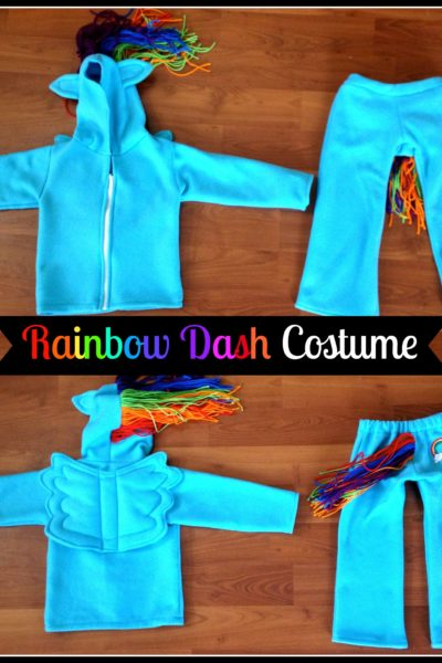 My Little Pony Rainbow Dash Costume Sewing Tutorial