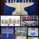 Chanukah Crafts for Kids: 8 Menorahs