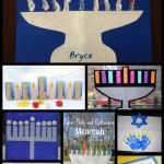 Chanukah Crafts for Kids: 8 Menorahs