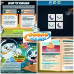 CosmoCamp Interactive Storybooks & Matching Games App