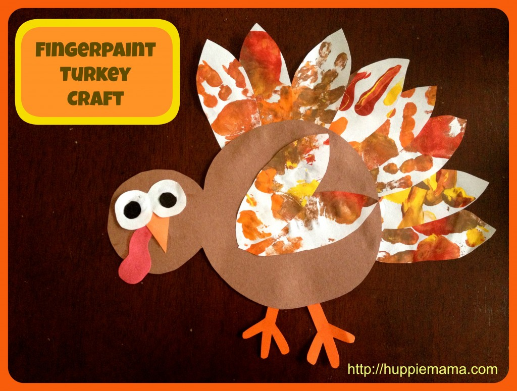 Fingerpaint Turkey Craft