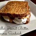 Peanut Butter S'mores Sandwich