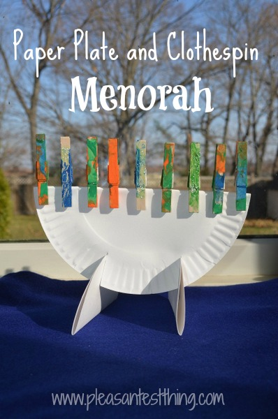 Menorah Craft 3