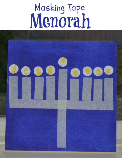 Menorah Craft 6