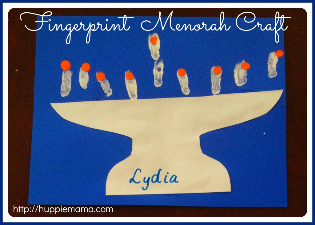 Menorah Craft 7