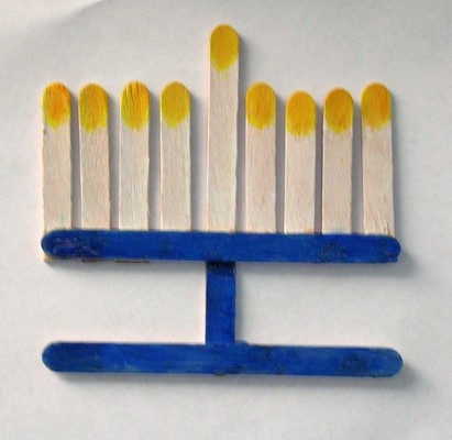 Menorah Craft 9