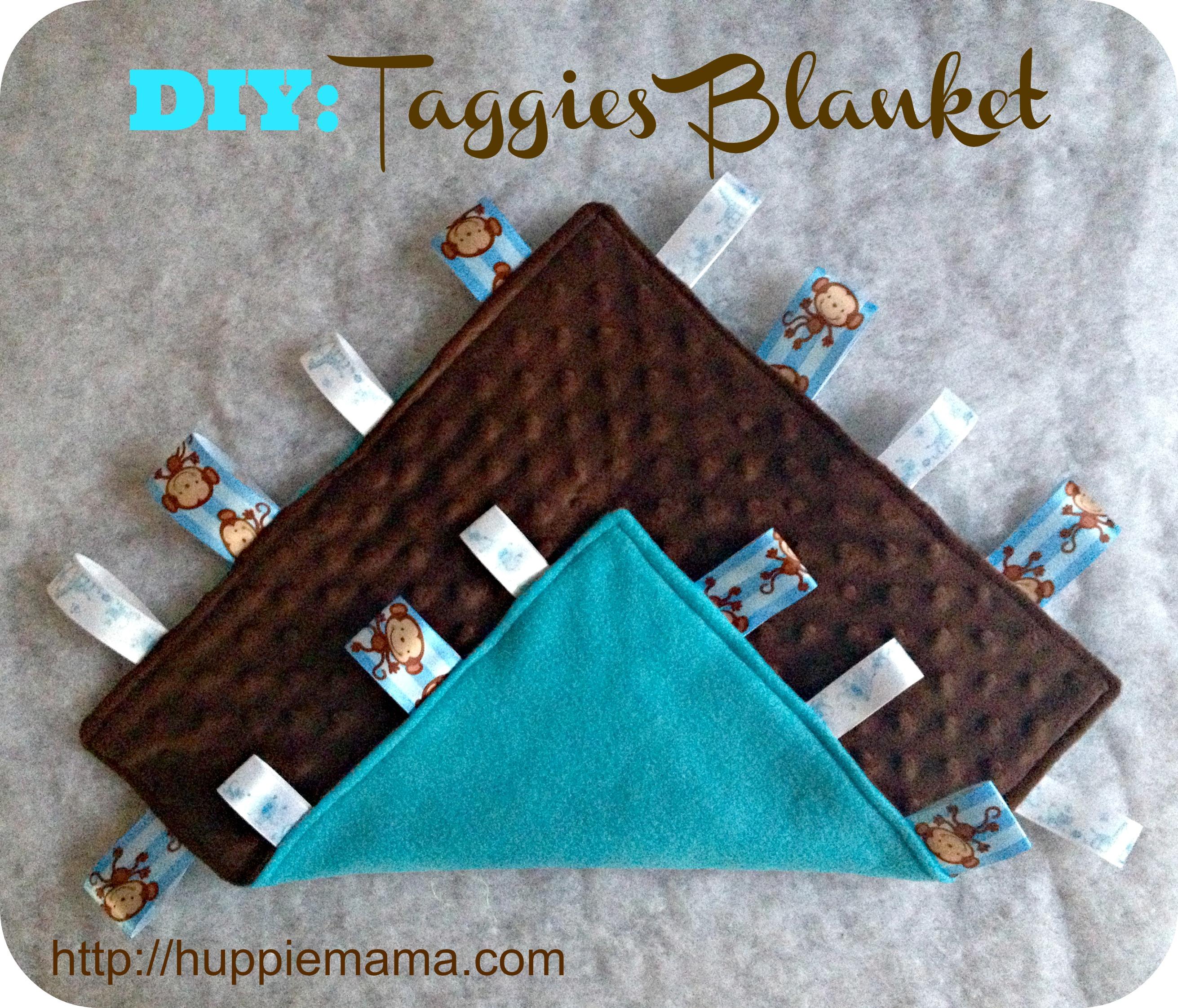 Taggies Blanket Sewing Tutorial