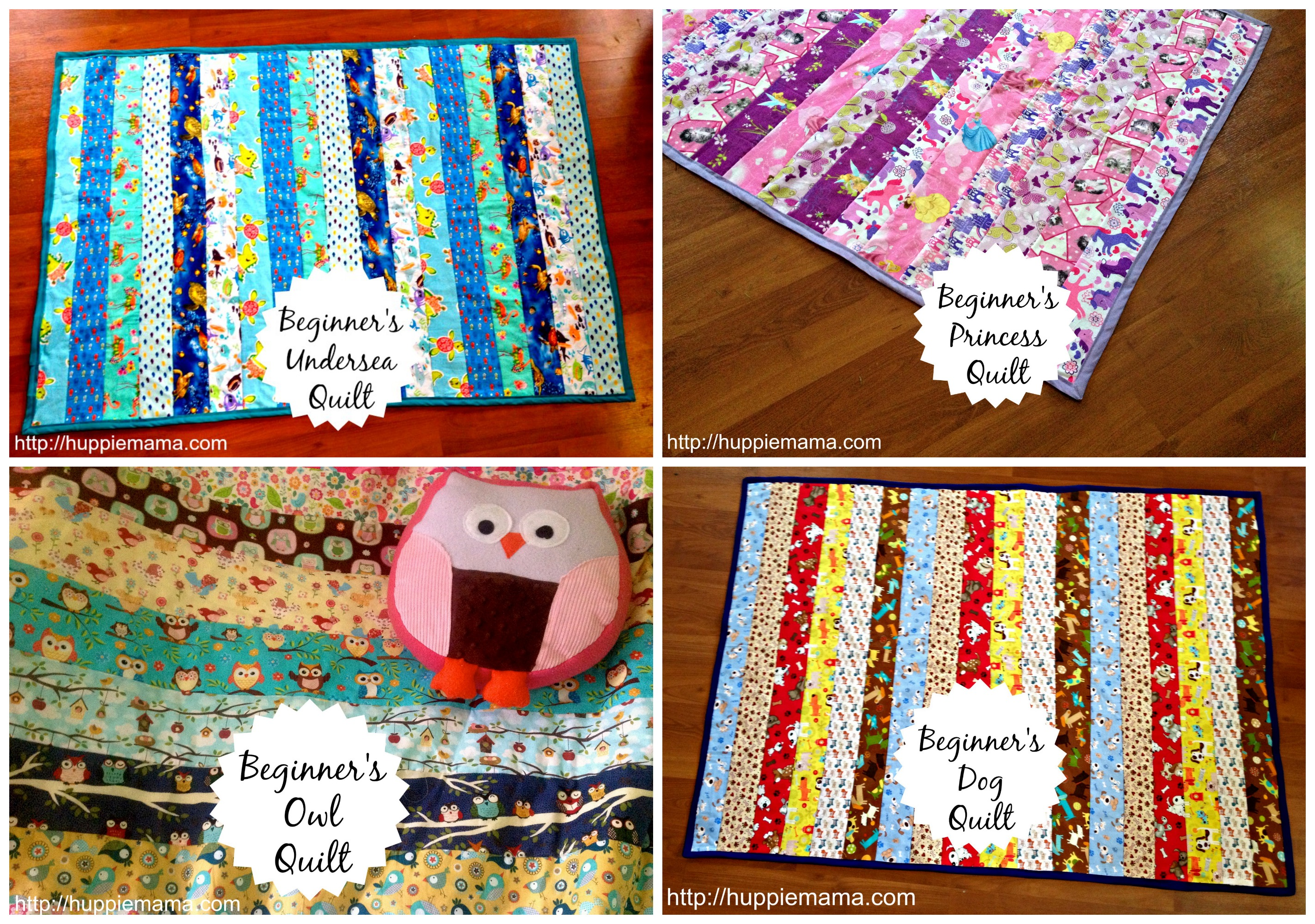 Beginner's Quilt Sewing Tutorial
