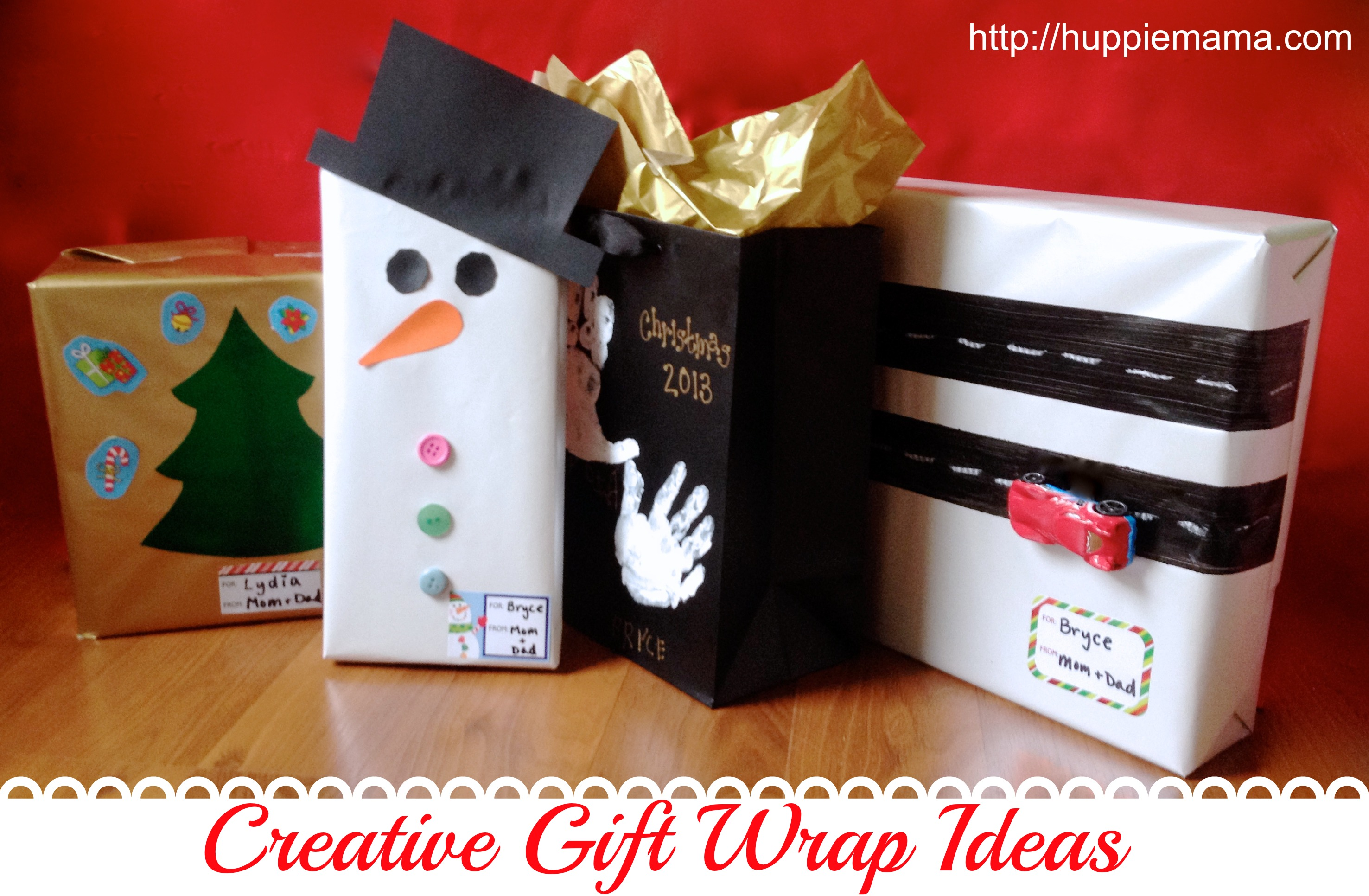 Ash tree cottage cute and cheap christmas wrap ideas for Unique ideas for christmas gifts