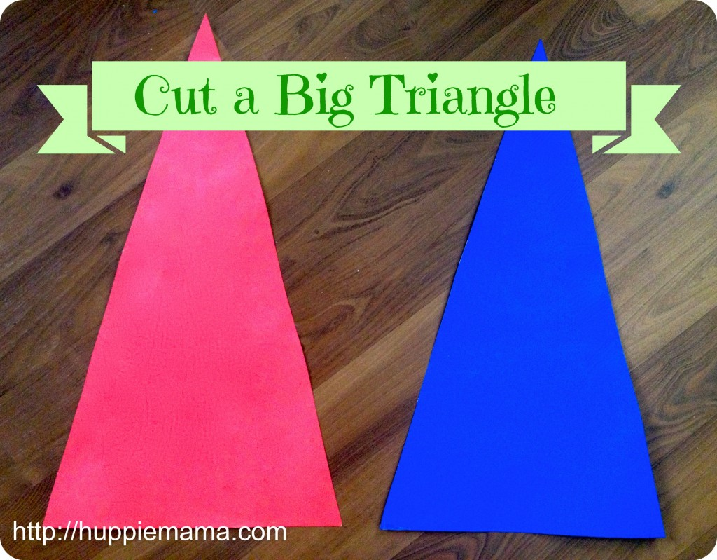 Cut a Big Triangle
