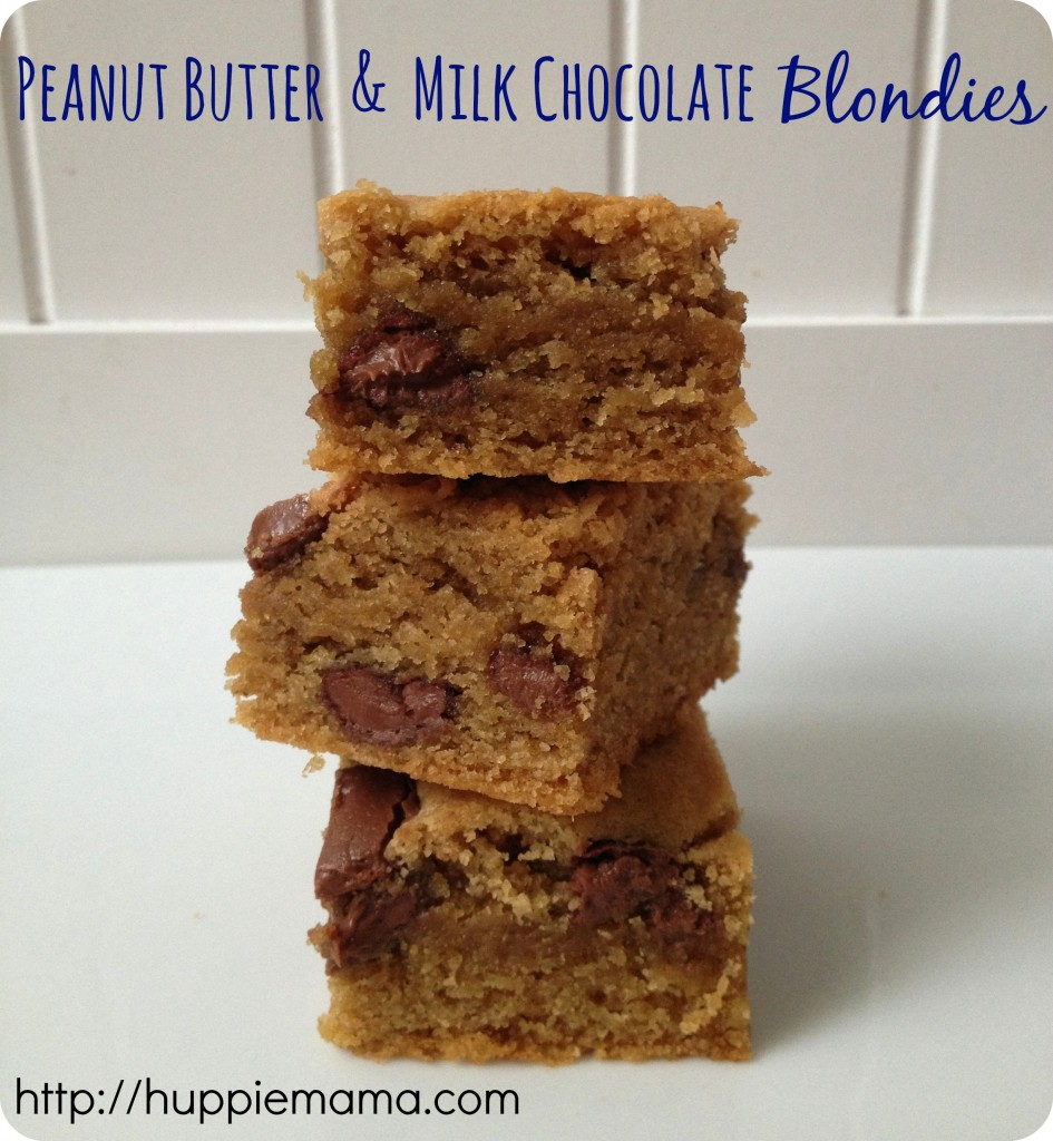 Peanut Butter & Milk Chocolate Blondie
