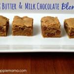 Peanut Butter & Milk Chocolate Blondies