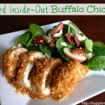 #ad Baked Inside-Out Buffalo Chicken Recipe #NatureRaised